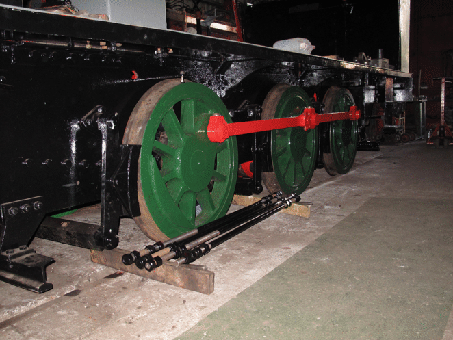 frames with brake gear fitted