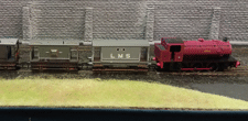 part of a model railway layout