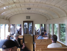 passengers on a train