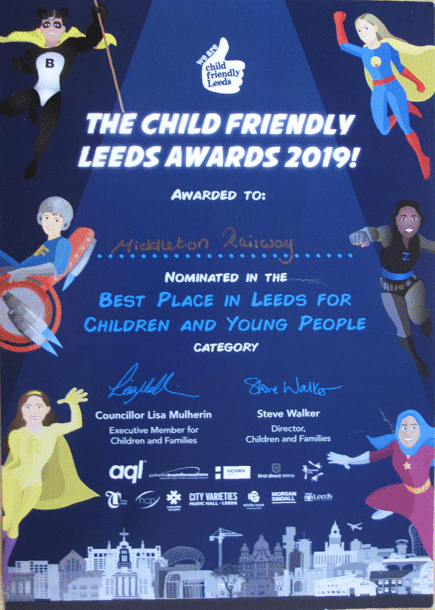 child-friendly award