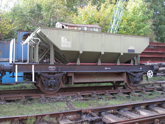 Dogfish hopper wagon DB993425