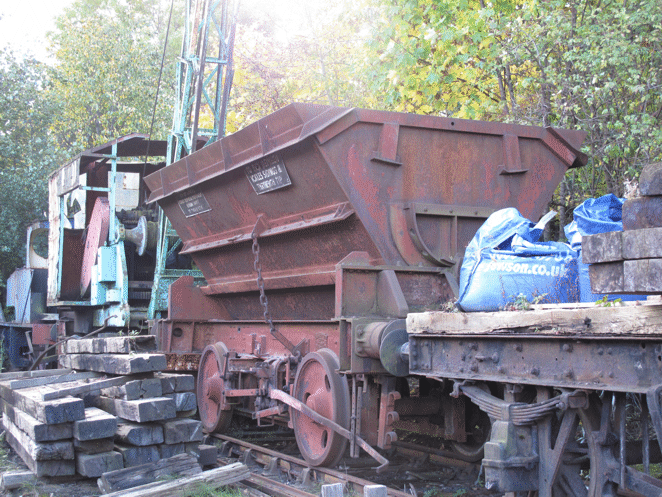 Tipper wagon YWA
