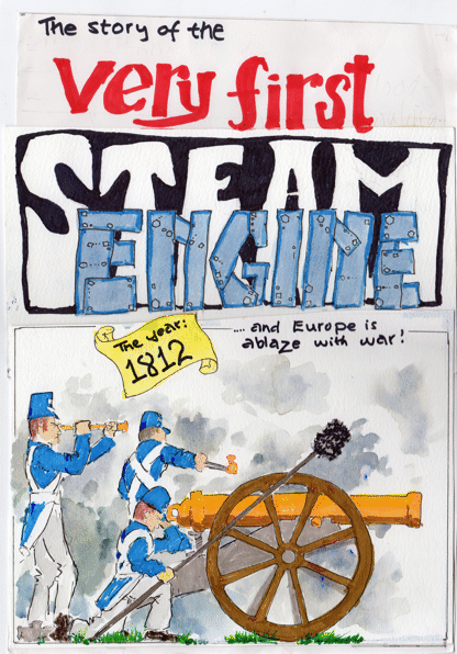 First Steam Engine book cover